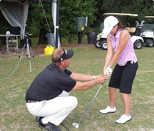 natural golf instruction video